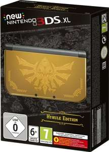 New 3DS XL - Hyrule Limited Edition (£150.65 + P&P) @ amazon.fr