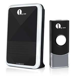 1byone Easy Chime Wireless Doorbell Kit with CD Quality Sound £9.08  (Prime) / £13.07 (non Prime) @ Amazon