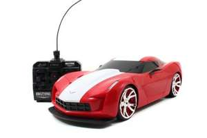 BigTime Muscle: Radio Control 2009 Corvette...£9.99 homebargains