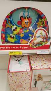 over the moon play gym £3.50 @ Tesco instore