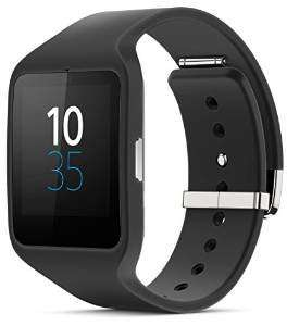 Sony Mobile SWR50 SmartWatch 3 Fitness and Activity Tracker Wrist Watch Compatible with Android 4.3+ Smartphones - Black £89 @ Amazon