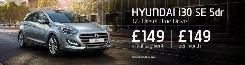 Hyundi i30 SE £149 then £149 a month 6000 miles lease richmondmotorgroup