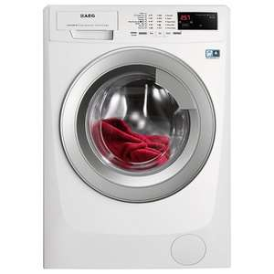 AEG L69490VFL Freestanding Washing Machine, 9kg Load, A+++ Energy Rating, 1400rpm Spin, White, 5 years Warranty £399 @ johnlewis
