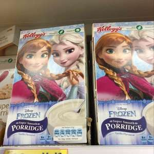Kellogg's super smooth porridge vanilla flavoured x6 sachets 99p @ Tesco