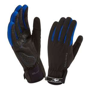 SealSkinz All Weather Waterproof Cycle Gloves - Black / Navy £18.95 incl delivery normal price £40 at Highonbike