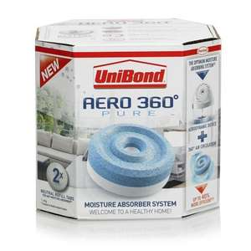 Unibond Aero, moisture absorber refills £3.50 @ Wilko