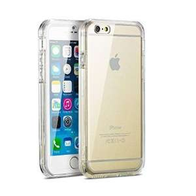 "iPhone 6s Plus Case, iPhone 6 Plus Case, New Trent Alixo 6L Rugged Transparent Clear Bumper Case for Apple iPhone 6s Plus iPhone 6 Plus 5.5"" Screen £3.95 @ Amazon"