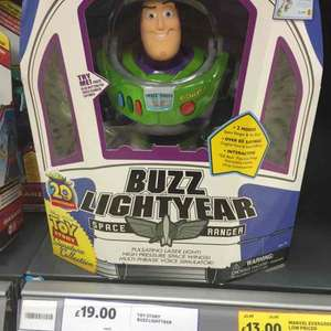 toy story buzz lightyear signature collection £19 at Tesco Quedgeley