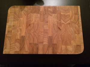 Professional Heavy Duty Wooden Chopping Block - £3.99 at Home Bargains!!