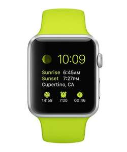 Hurry! Green Apple Watch Sport, only 1h 47m left!!! £245 @ Secret Sales