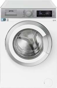 Smeg WHT1114LSUK White & Silver 11kg 1400rpm A+++ Washing Machine 5 Years Warranty  £499.99  idealkit