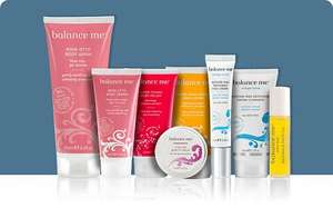 Balance Me skincare collection worth more than £80 > £15.95 this weekend Telegraph (contains 8 items)