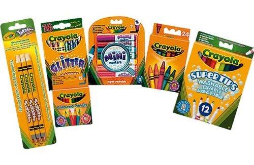 Crayola 74 Piece Stationery Set was £9.95 now £6.99 C+C @ Argos