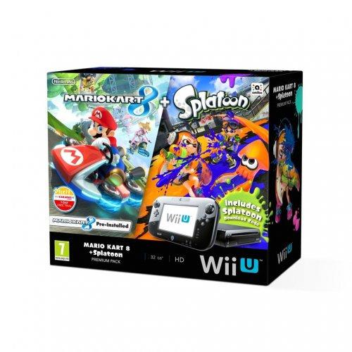 Wii U Premium Console 32GB (Includes Mario Kart 8 + Splatoon) £219.99 @ Smyths