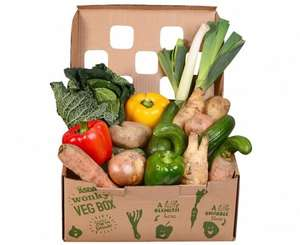 'wonky vegetable' box  @ Asda £3.50