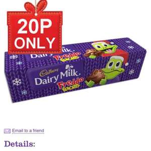 Cadburys Freddo Faces Tube 20p (£3.95 delivery) @ Cadbury gifts direct