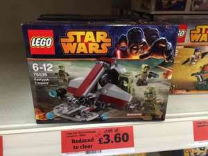 Lego Star Wars 75035 Kashyyk Troopers Battle Pack £3.60 @ Sainsbury's in store