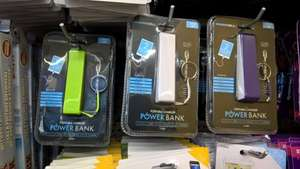 1200mAH powerbank £1.00 @ poundworld