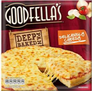 Goodfella's Deep Pan Deliciously Cheesy (417g) / BBQ Pulled Pork (408g) / Pepperoni (419g) / Meat Fiesta (414g) was £2.50 now ONLY £1.00 (Rollback Deal) @ Asda