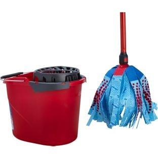 Vileda Super Mocio Mop  £3.00 Refills £1.75, Vileda Mop Bucket £3.00 @ Wilko