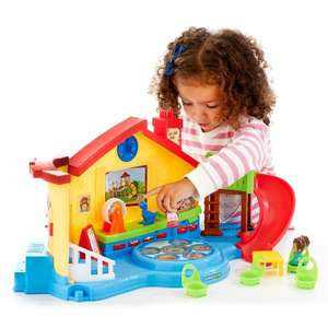 Fisher-Price Little People Musical Preschool Playset £14.99 @ The Toy Shop (Entertainer) + Free Click & Collect