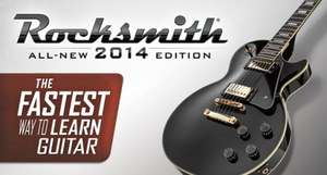 Rocksmith 2014 PC £5.99 (No Real Tone cable) @ Steam