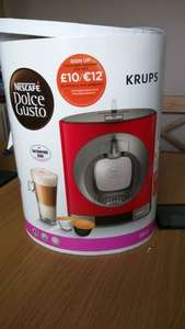 Nescafe Dolce Gusto RED ONLY £39.99 (down from £99.99) @ Tesco
