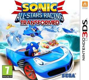 Sonic All Stars Racing Transformed 3DS £13.89 delivered @ GameSeek