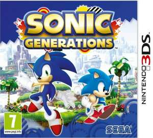 Sonic Generations 3DS @ £14.77 delivered @ CarbonFusion