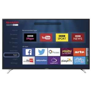 Sharp LC40CFE6241K 40 Inch Smart Full HD 1080p LED TV with Freeview HD @ Tesco (Bradley Stoke) -  £179