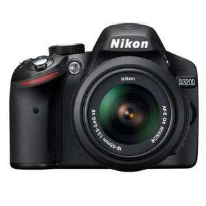 Nikon D3200 Digital SLR + 18-55mm VR Lens - Black £299 @ Digital Depot