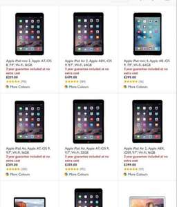 John Lewis 3 year guarantee on iPad and Mac