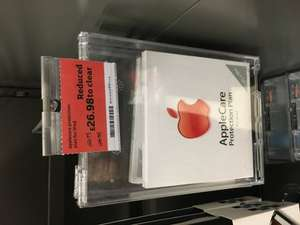 AppleCare for iPad £26.98 @ Sainsbury's (Exeter)