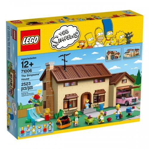 Lego The Simpsons House £153 [£9.00 Points] / Lego Kwik-E-Mart £144.50 [£8.50 Points] @ Pixel Electronics/Rakuten