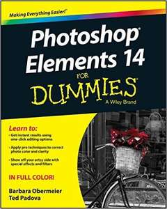 Photoshop Elements 14 for Dummies from Amazon £8.80 Prime or £11.79 non prime
