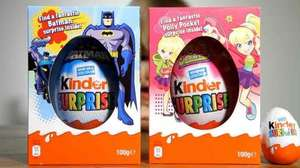 Large Easter Eggs (including Kinder egg) 3 for £10 at Asda instore