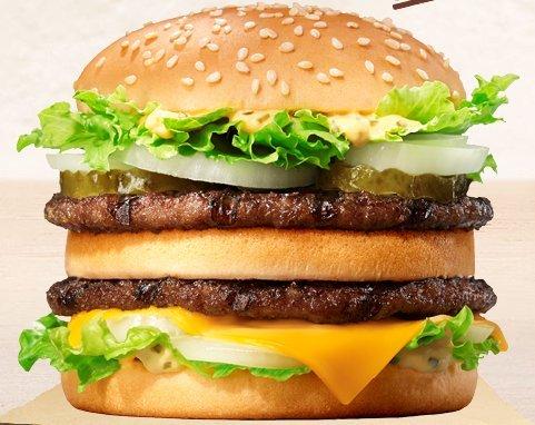 Burger King Mushroom Double Cheeseburger / King Chicken / Big King - £1.49 Each