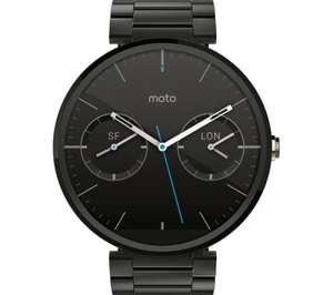 MOTOROLA Moto 360 Smartwatch £99.95 delivered @ Currys/PcWorld
