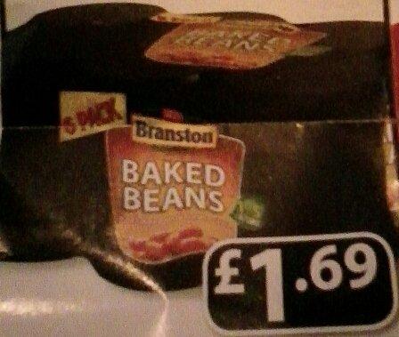 Branston Baked Beans 6 × 410g £1.69 @ Farmfoods