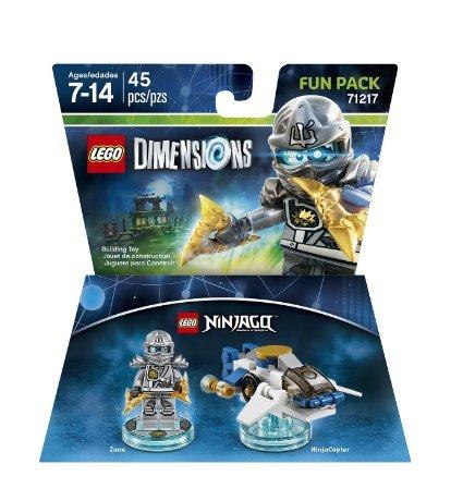 Lego Dimensions Zane and Wonder Woman Fun Packs - £7.99 each prime / £9.98 each non prime @ Amazon