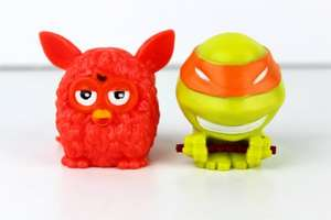 Mash'Ems - TMNT and Furby 2 for £1 @ Poundworld