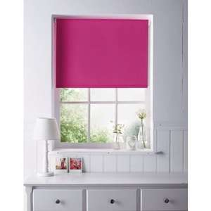 Home of Style Hot Pink Blackout Blind - 60cm £4.43 @ Homebase (FREE Click & Collect)