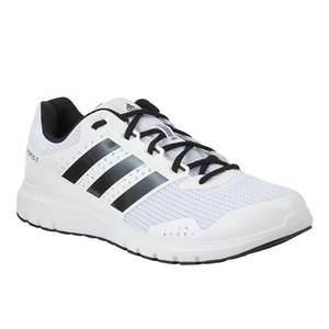 Adidas Duramo 7 Men's Running Shoes, White Or Solar Blue/Midnight £30 FREE Click & Collect @ Johnlewis