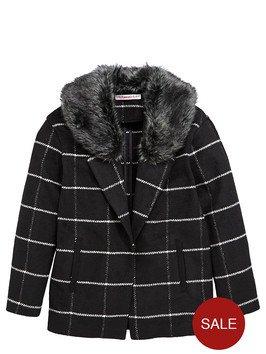 Freespirit Girls Boyfriend Blazer with Faux Fur Collar (was £25) now £7.60 / £8.55 depending on size at Very
