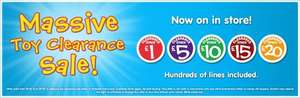 Smyths Toys UK Massive Toy Clearance Sale - Prices starting at £1