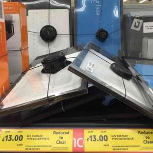 Microsoft Surface Touch Covers White or Blue £13 @ Tesco Instore