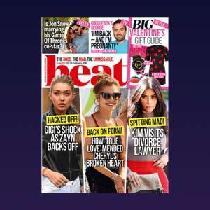 Free Heat Magazine Download on O2 Priority (via Google Play)