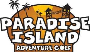 2 for 1 at Paradise island adventure golf 8-14th Feb 2016
