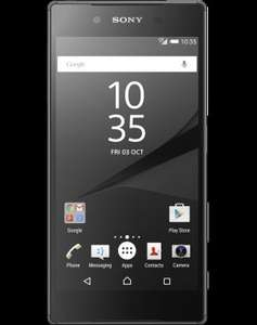FREE Sony Xperia Z5 Black Unlimited mins Unlimited texts 2GB data £26 pm on Vodafone @ mobiles.co.uk