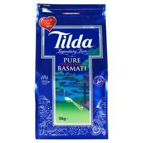 Tilda Pure Basmati Rice 10kg reduced from £22.00 to £15.00 @ Asda